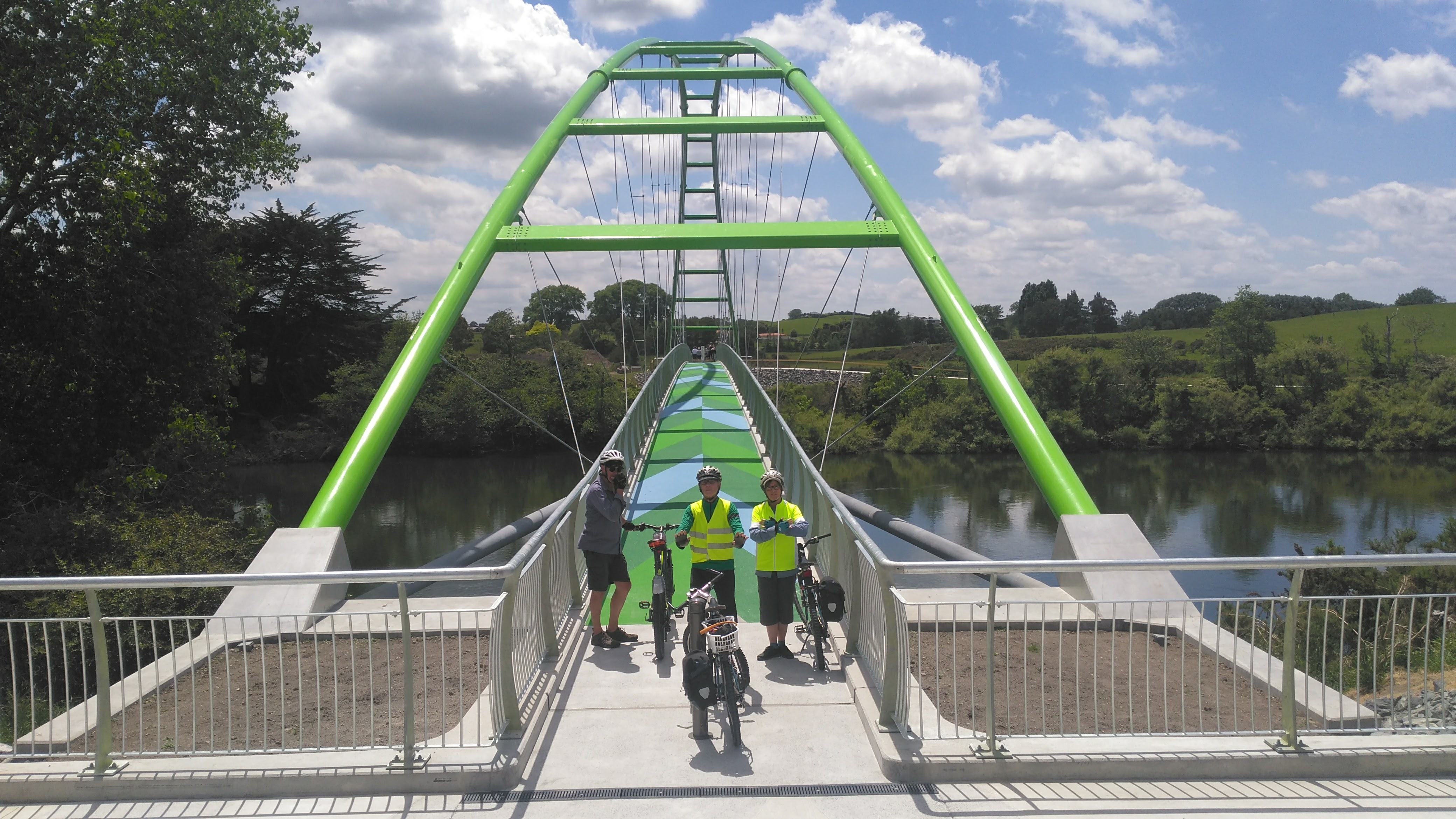 Perry Bridge Te Awa Trail